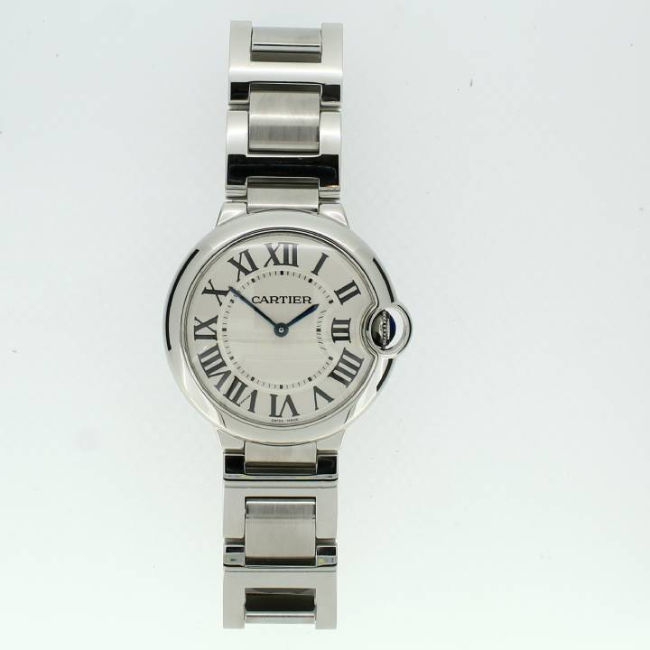 Pre-Owned Cartier Ballon Bleu 36mm Watch, Original Papers