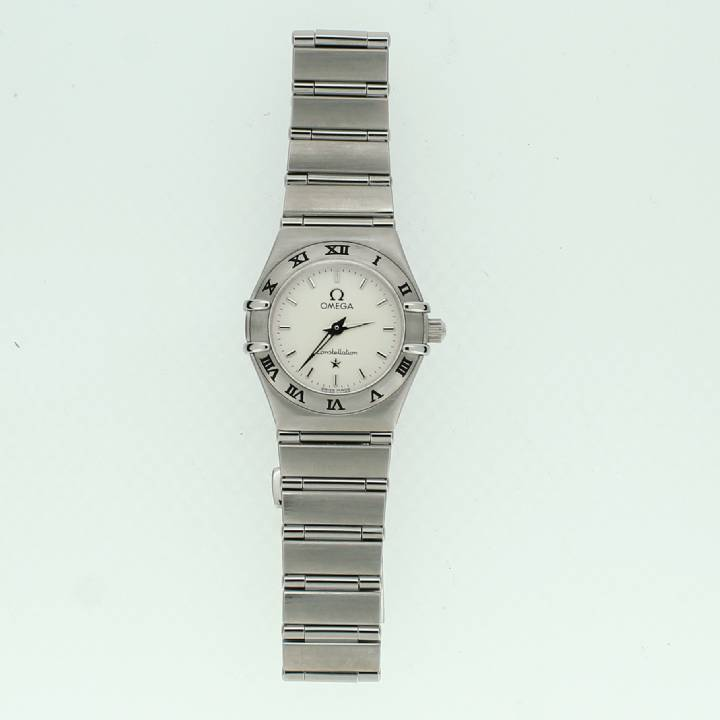 Pre-Owned Ladies Omega Constellation, Silver Dial