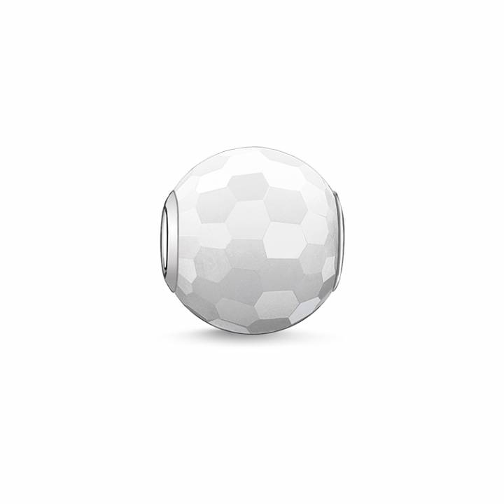 Thomas Sabo Faceted White Jade Karma Bead, Was £19.00