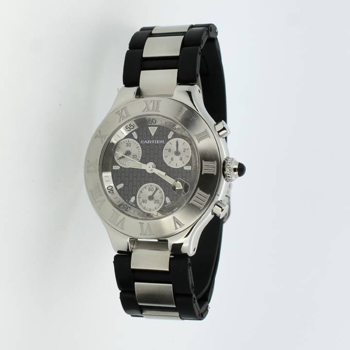 Pre-Owned Cartier Must 21 Chronoscaph Watch 1702314