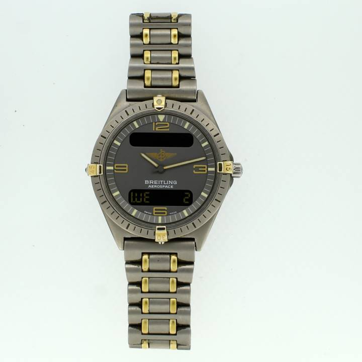 Pre-Owned Breitling Aerospace Watch, Grey Dial 1704219