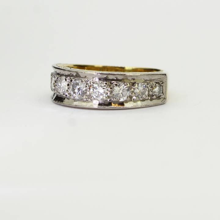 Pre-Owned Diamond Half Eternity Ring