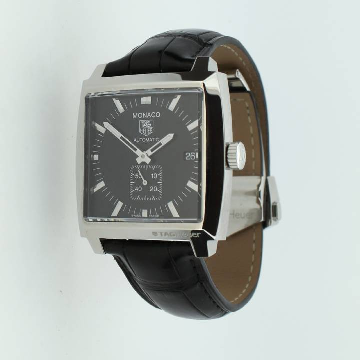 Pre-Owned Tag Heuer Monaco Watch, Original Papers