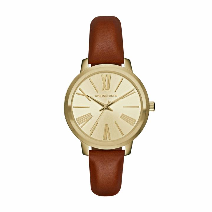 Michael Kors Ladies Hartman Leather Watch, Was £185.00