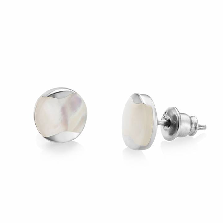 Jersey Pearl Mother Of Pearl Dune Drop Earrings, Was £49.00 1414046
