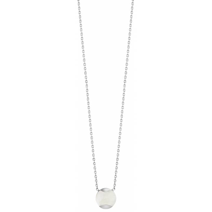 Jersey Pearl Mother Of Pearl Dune Pendant & Chain, Was £60.00