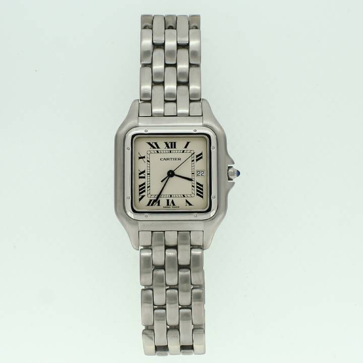 Pre-Owned Gents Cartier Panthere Stainless Steel Watch 1702317