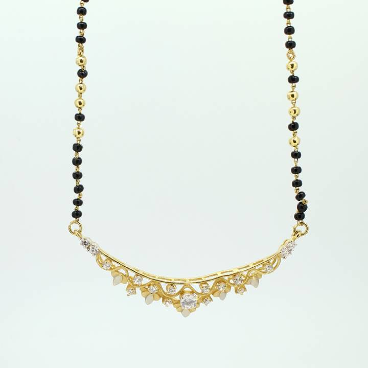 Pre-Owned 22ct Yellow Gold Beaded Stone Set  Necklet