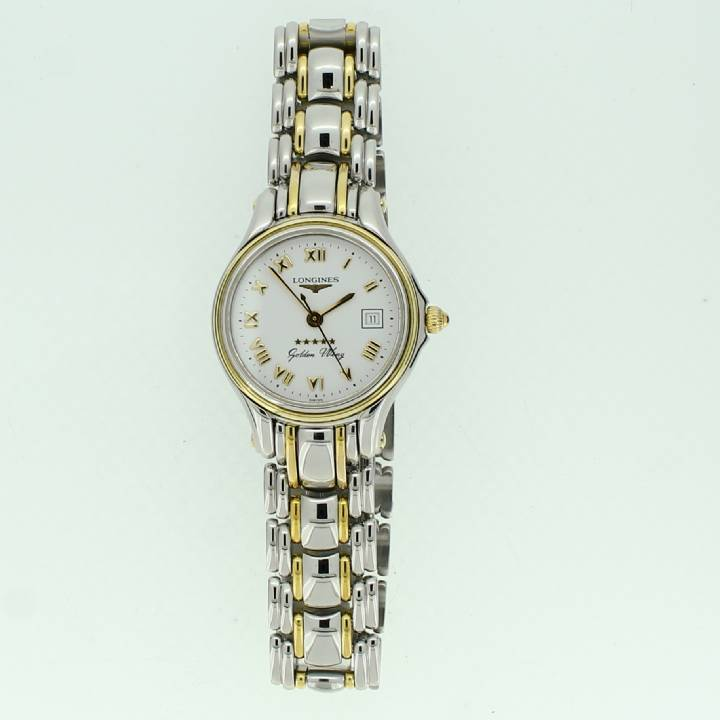 Pre-Owned Ladies Longines Gold Wing 5 Star Bi-Colour Watch 1710034