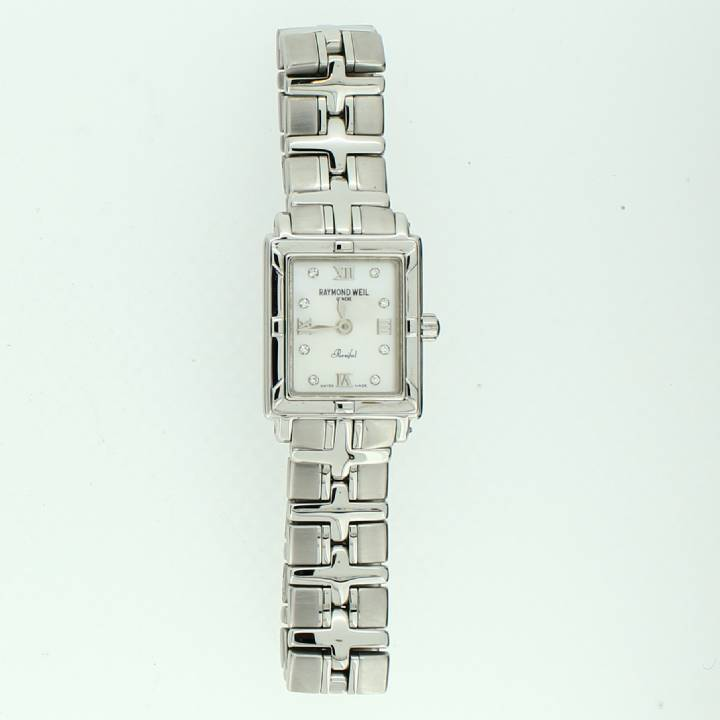 Pre-Owned Ladies Raymond Weil Parsifal Stainless Steel Watch 1707216