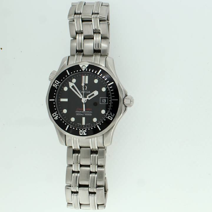 Pre-Owned Midi Omega Seamaster Original Papers 1703461
