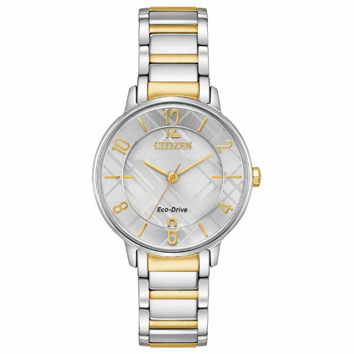 Citizen Ladies Eco-Drive Two-Tone Watch, Was £229.00