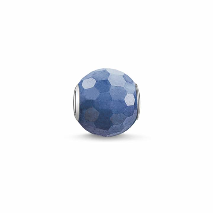 Thomas Sabo Blue Faceted  Dumortierite Karma Bead, Was £19.00