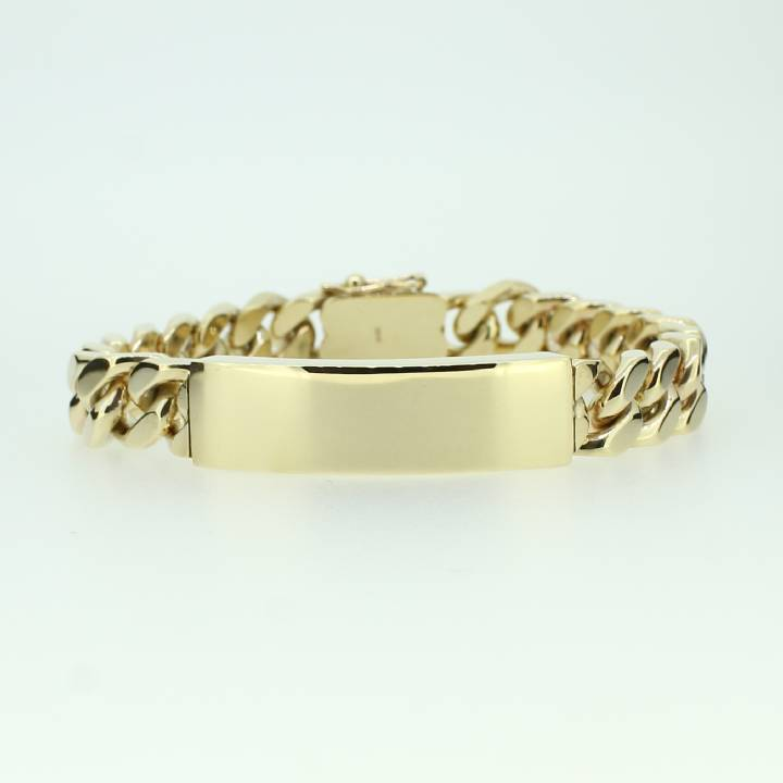 Pre-Owned 9ct Yellow Gold ID Bracelet 1505181