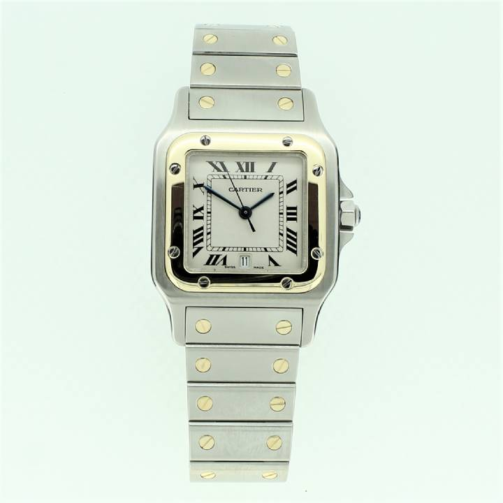Pre-Owned Gents Cartier Santos Watch 7203034