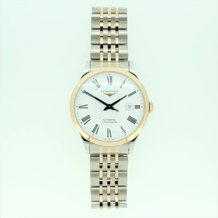 Pre-Owned Longines Record Collection Watch, Original Papers 1710037