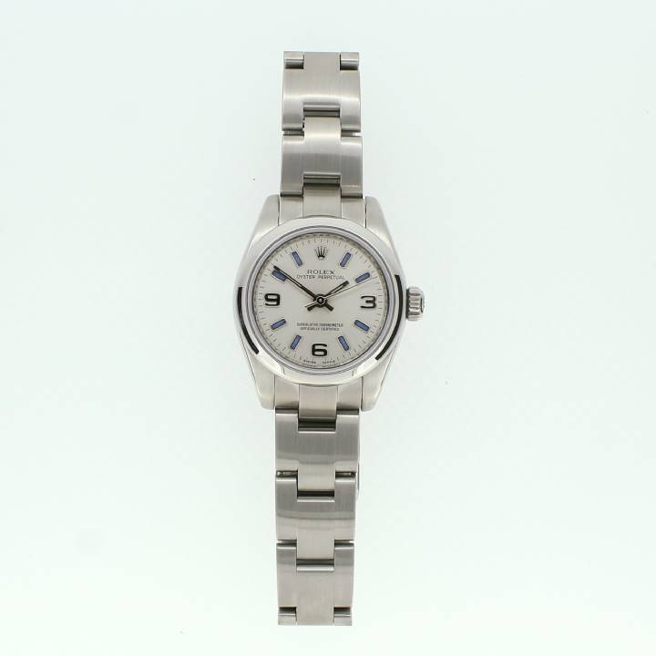 Pre-Owned Ladies Rolex Oyster Perpetual Watch Stainless Steel 1701071