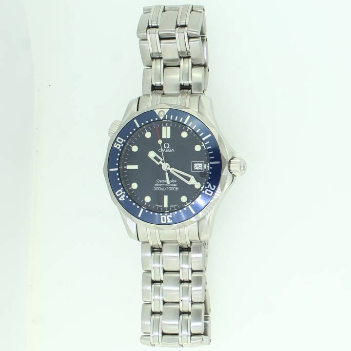 Pre-Owned Mid-Size Omega Seamaster Steel Watch 300m