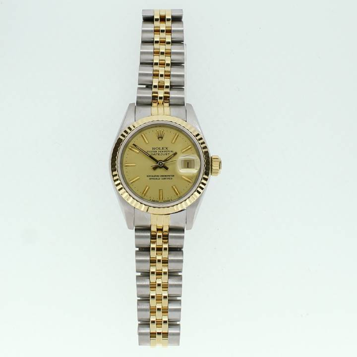Pre-Owned Ladies Rolex Datejust Bi-Colour Watch, Champagne Dial 7201166