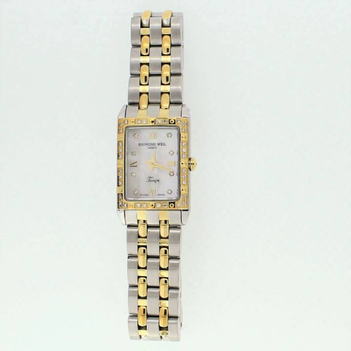 Pre-Owned Ladies Raymond Weil Tango Bi-Colour Original Papers 1707213