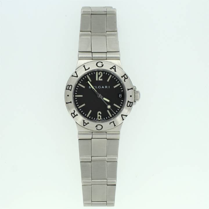 Pre-Owned Ladies Bvlgari Diagono Watch, Original Papers