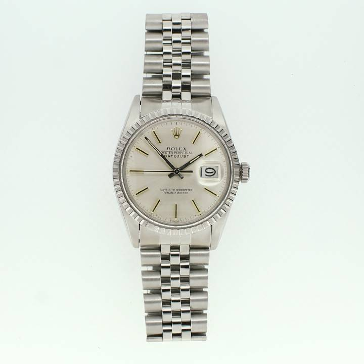 Pre-Owned Gents Rolex Datejust Watch, Silver Dial 1701101
