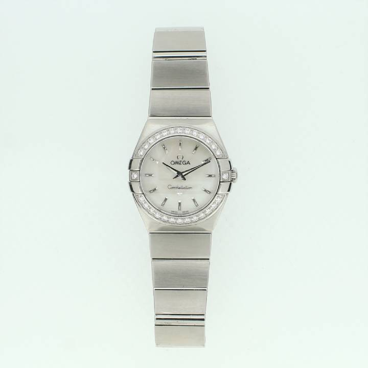 Pre-Owned Ladies Omega Constellation Watch Stainless Steel