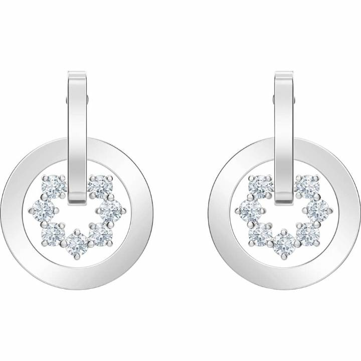 Swarovski Further White Crystal Drop Earrings, Was £59.00 2601202