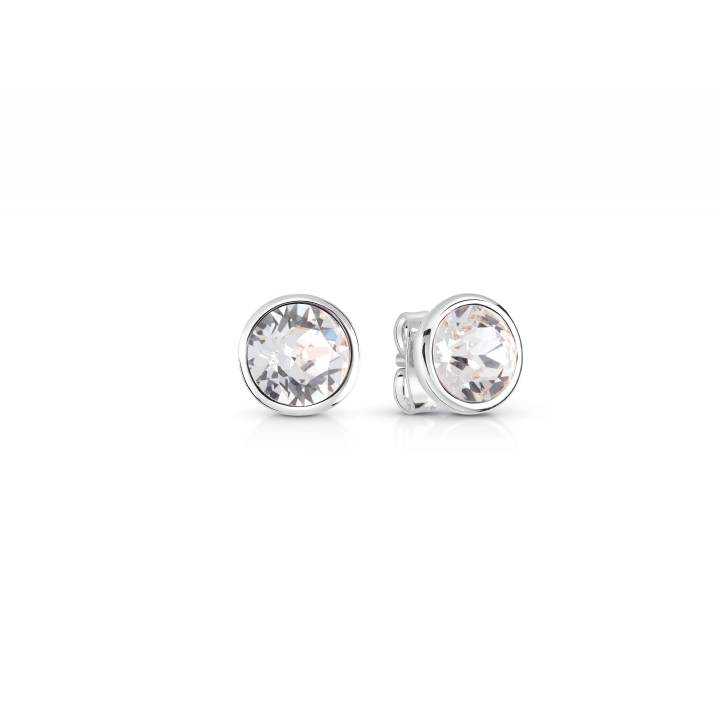 Guess Miami Stainless Steel CZ Stud Earrings, Was £19.00
