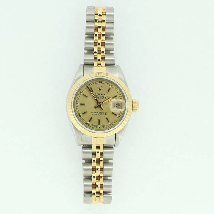 Pre-Owned Ladies Rolex Datejust Watch, Champagne Dial 7201189