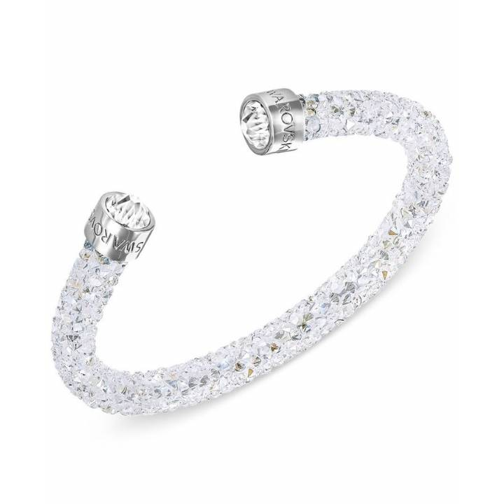 Swarovski Crystaldust White Cuff, Size Medium, Was £59.00