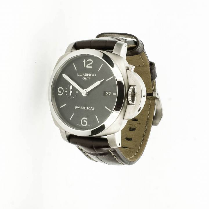Pre-Owned Panerai 1950 3 Days GMT Watch, Original Papers