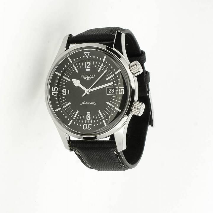 Pre-Owned Gents Longines Legend Diver Watch & Original Papers