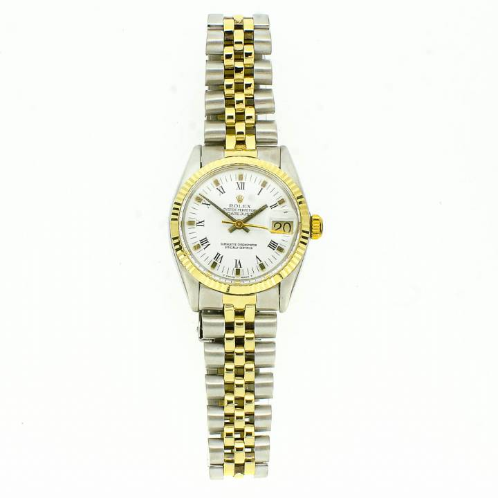 Pre-Owned Midi Rolex DateJust, Bi-Colour Watch 6827